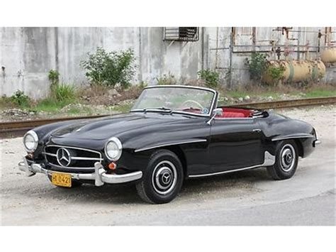 classic mercedes convertible find used 1962 mercedes benz 190 sl roadster classic