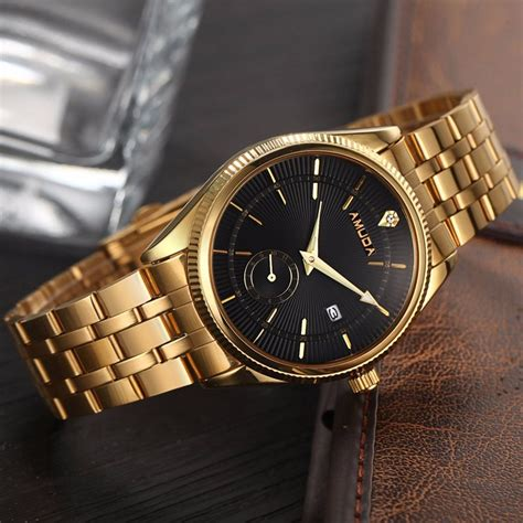popular gold mens watches buy cheap gold mens watches lots