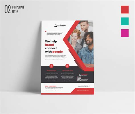Corporate Design Vorlagen Indesign free indesign bundle 10 corporate flyer templates stockindesign