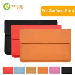 megoo surface pro 4 leather sleeve cover for