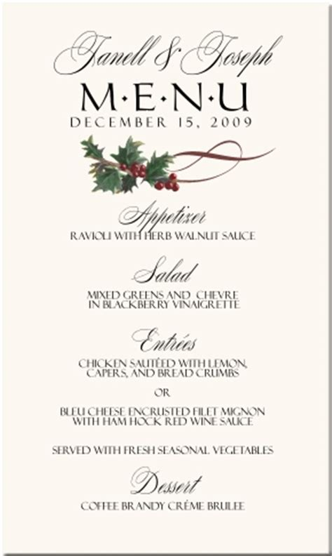 winter theme wedding menu cards snowflake wedding menu cards christmas menu cards holiday menu