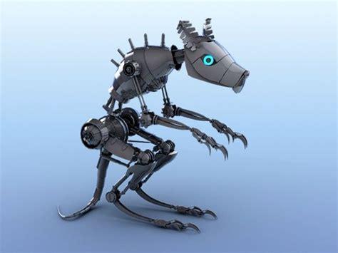 Umakuka 3d Robot Tiger mouse robot 50 3d models robots