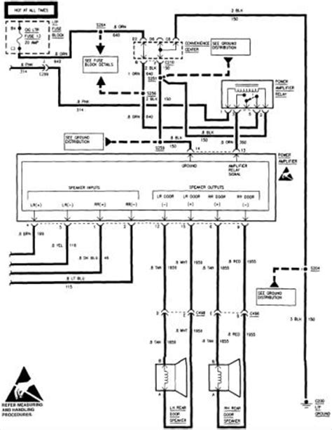 Stereo wiring diagram or help - Chevrolet Forum - Chevy