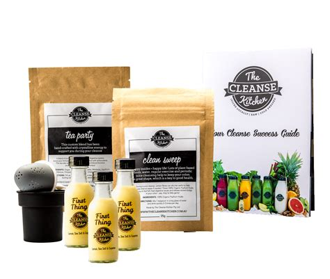3 Day Detox Kit by 3 Day Cleanse Kit The Cleanse Kitchen The Cleanse Kitchen