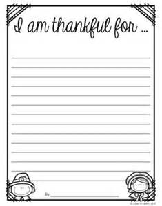 Thanksgiving Paper Template by 17 Best Ideas About Thanksgiving Writing On