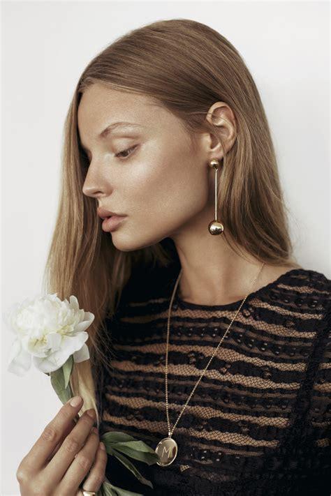 Heike Grebenstein Model Turns Jewelry Designer by An With Model And Designer Magdalena Frackowiak