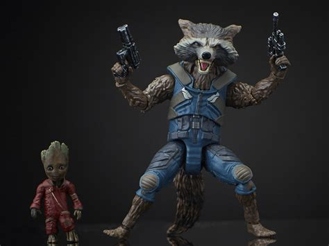 Marvel Legends Guardian Of The Galaxy Series Rocket Mini Groot guardians of the galaxy vol 2 marvel legends rocket raccoon groot mantis baf