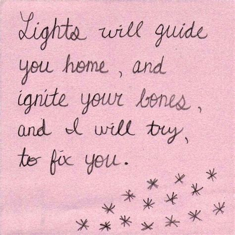 coldplay fix you lirik fix you coldplay quirky quotes and inspiration pinterest