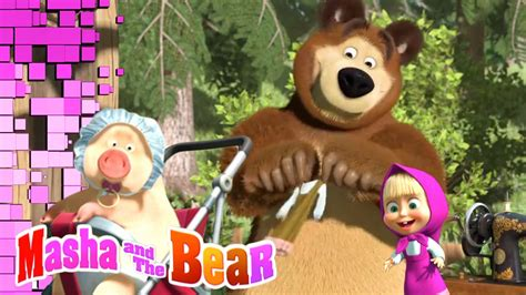 misteri film masha n the bear ovf 187 masha and the bear cartoon wallpapers 48 wallpapers