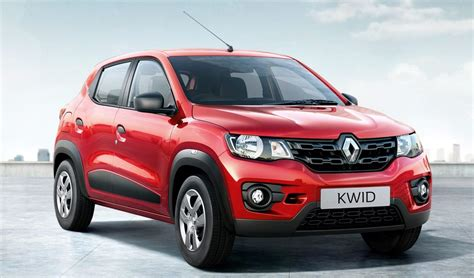 renault kwid red colour 100 renault kwid black colour launched india made