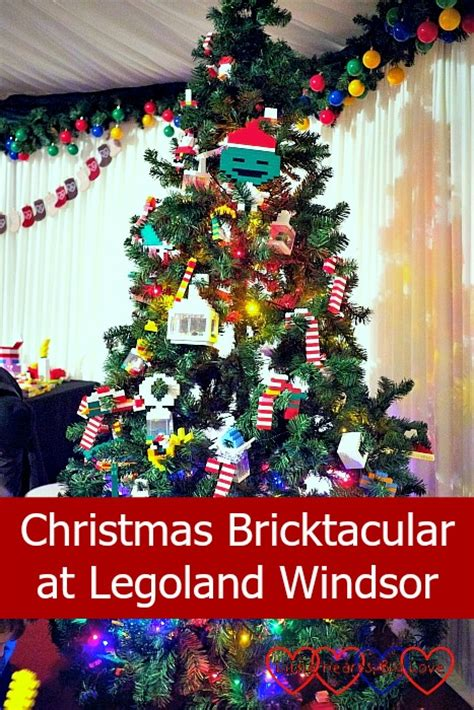 legoland christmas bricktacular at legoland hearts big