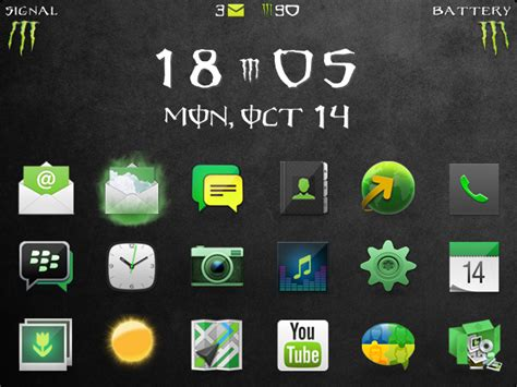 themes for blackberry tour 9630 premium final monster theme blackberry forums at
