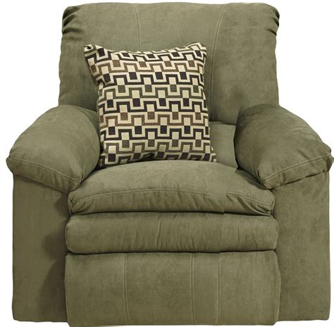 Impulse Recliner by Impulse Power Rocker Recliner In Moss Color Fabric By