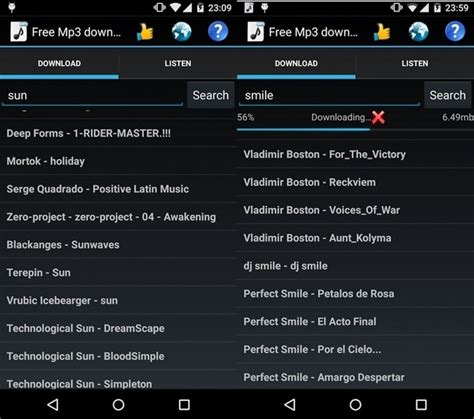 best free downloader for android 25 best mp3 downloader android apps for free