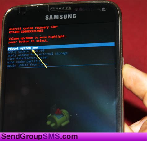Reset Samsung Factory | learn how to factory reset samsung galaxy s5 model sm