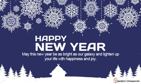 new year business ecard happy new year wishes and greetings