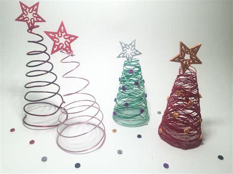 como hacer arbolitos de navidad c 211 mo hacer arbolitos de navidad para adornar tu casa