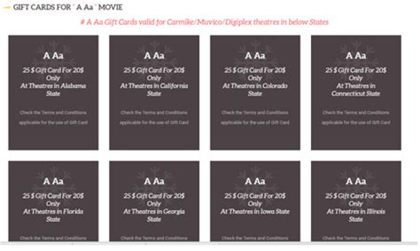 Carmike Theater Gift Cards - press note a aa discount gift cards 123telugu com