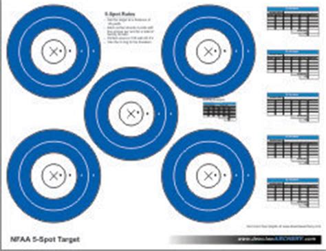 printable vegas targets printable targets dewclaw archery