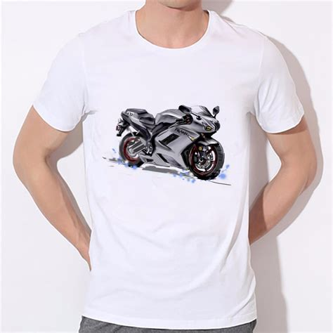 T Shirt Bike Show High Quality new summer classic motorcycle t shirt milk silk sleeve quality boy t shirt top