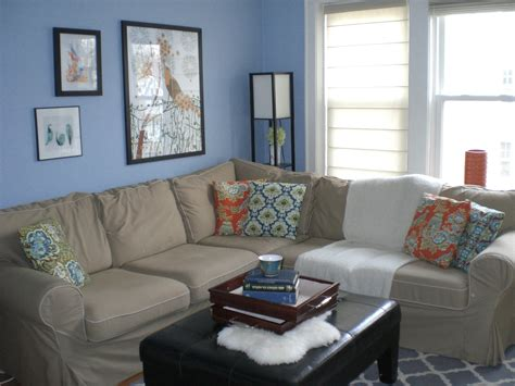 wall colors for living room blue home combo