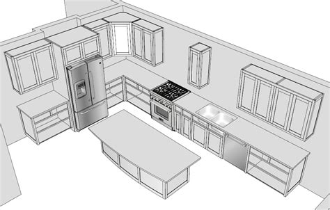 737 all new sketchup kitchen kitchen set sketchup help 10 faqs popular woodworking magazine