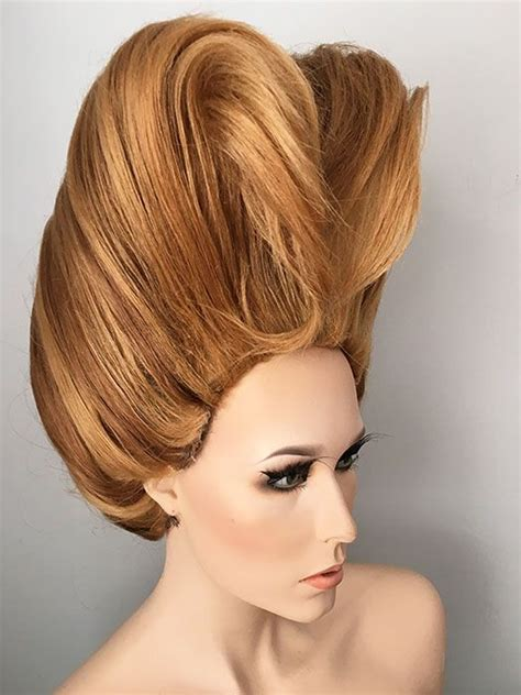 wigs updos big drag queen pageant ready wig updo hair sculpture