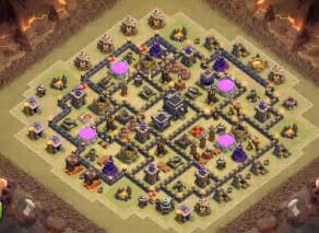 Top 5 coc th9 war base 2016 cocbases