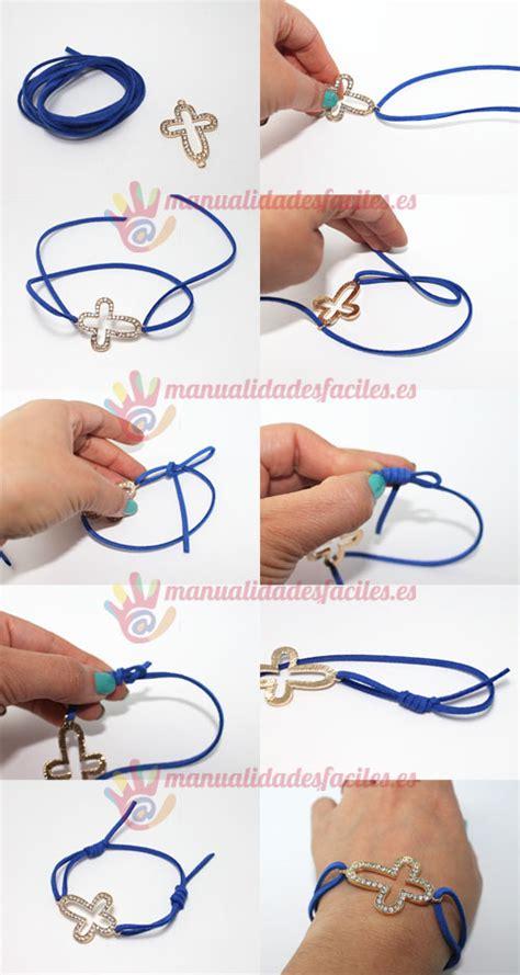 pulsera nudos corredizos pulsera con nudo corredizo manualidades faciles