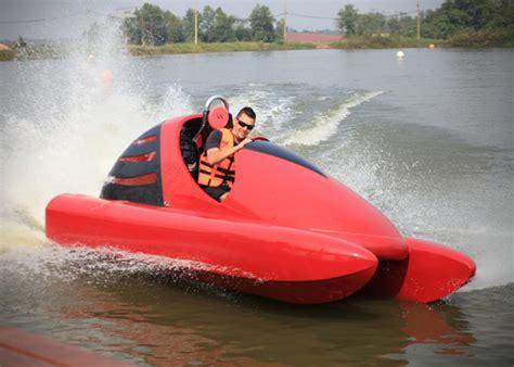 jet ski motor on go kart wokart water go kart hiconsumption