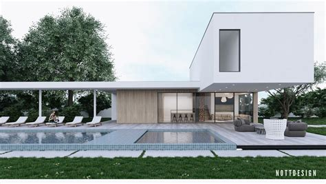 an amazing cantilever home with brilliantly integrated