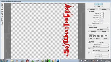 photoshop cs5 liquify tutorial how to make liquify text in photoshop cs5 youtube