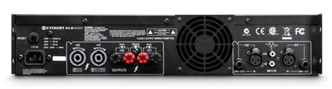 Power Lifier Crown Lps 2500 xls 1000 crown audio professional power lifiers