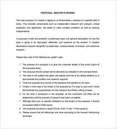 Dissertation Proposal Masters Thesis Proposal For Sale