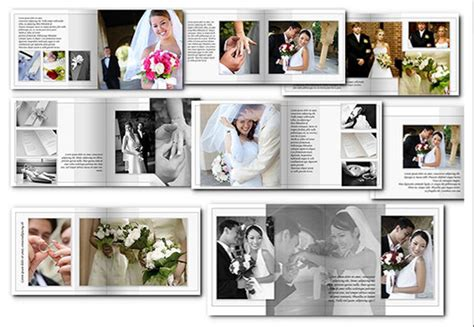 6 wedding album templates website