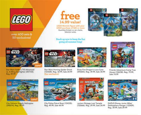 Where Can I Get A Toys R Us Gift Card - lego bionicle toys r us promotion the brick fan the brick fan