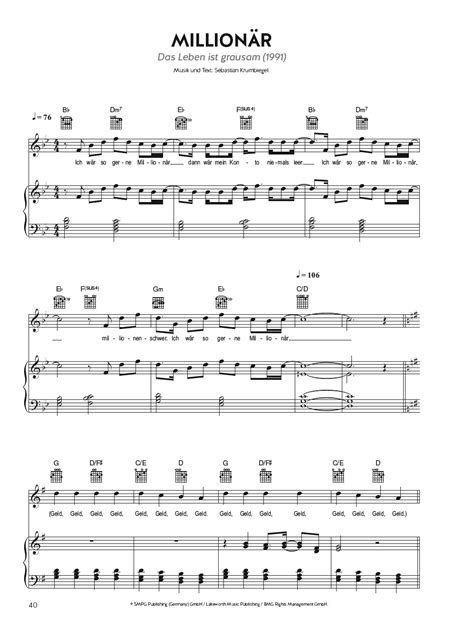 schlaf lied bosworth die prinzen das notenbuch 28 hits f 252 r