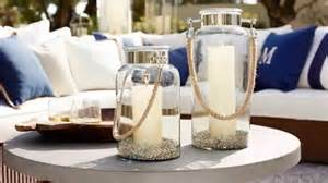 Pottery Barn Glass Coffee Table Outdoor Lanterns And Candles For Outdoor Coffee Table