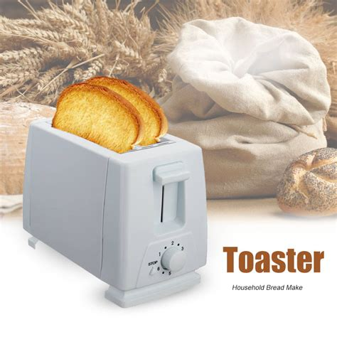 Mini Bread Toaster 750w Bread Machine Household Automatictoaster 2 Slice