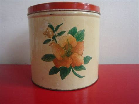 vintage cream and pink kitchen canister set 4 by whitepicket 1000 images about vintage kitchen canisters on pinterest