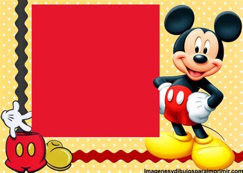 imagenes cumpleaños de mickey mouse tarjetas de cumplea 241 os de mickey