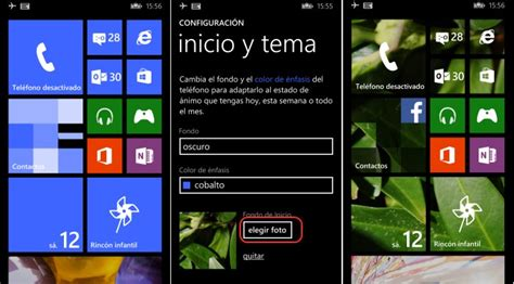 Imagenes Con Movimiento Windows Phone | configura el fondo de tu men 250 inicio en windows phone 8 1