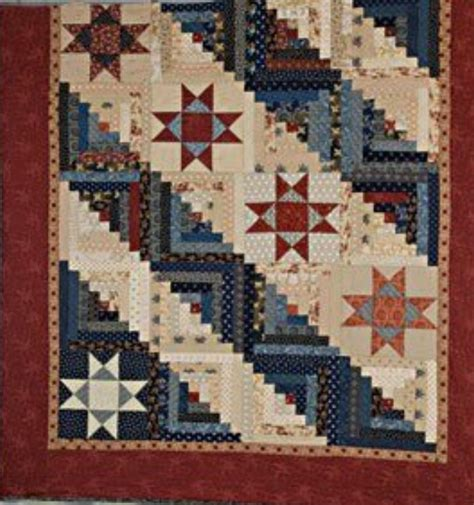 Log Cabin Quilt Pattern Free Quilt Pattern And Cool Egg The Quilter