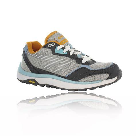 hi tec running shoes hi tec womens shadow grey sport outdoor trail running