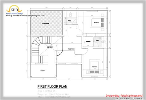 sqft to sqmeter home plan and elevation 1983 sq ft kerala home design