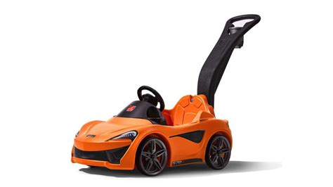 who made mclaren mclaren made a 570s push car for the coolest on the block