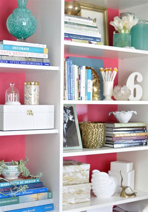 styling a bookshelf home decorating tips