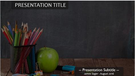 powerpoint templates free school related free school supplies powerpoint 4881 sagefox powerpoint