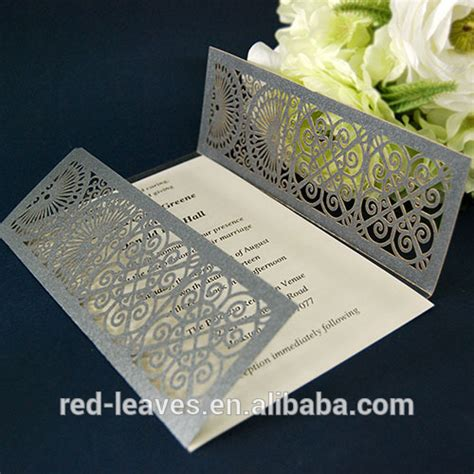 wedding invitation craft accessories paper product type wedding use invitation card crafts paper gift wedding cards in event