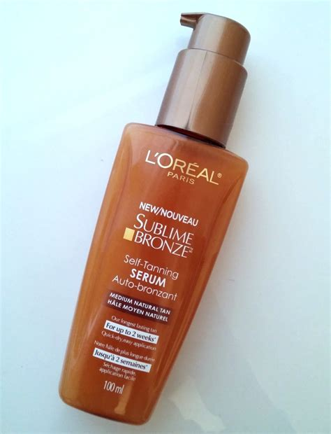 tanning l reviews review l oreal sublime bronze self tanning serum